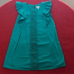 Girl's Teal Dress